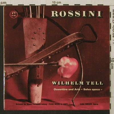 Rossini, Gioacchino: Wilhelm Tell Ouverture/Selva Opaca, Concert Hall(M-502), D,  - EP - T2800 - 3,00 Euro