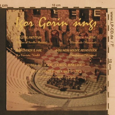 Gorin,Igor: sings Largo al Factotum +3, ARC(ARC 28), UK,33rpm, 1963 - EP - T4400 - 4,00 Euro