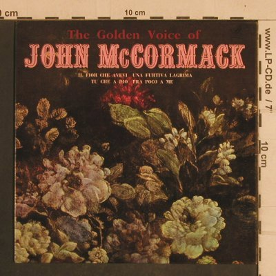 McCormack,John: The Golden Voice of, hist rec., ARC(ARC 53), UK,33rpm, 1964 - EP - T4403 - 5,00 Euro