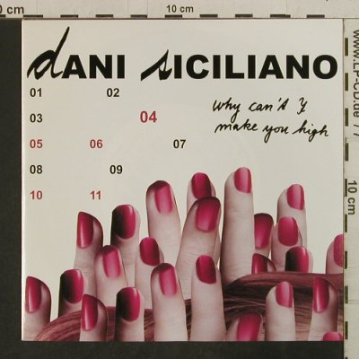Siciliano,Dani: Why Can't I Make You High, K7(7201S), D,  - 7inch - T3776 - 4,00 Euro