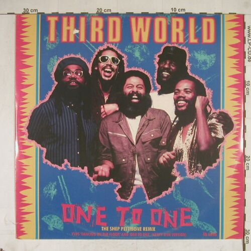 Third World: One To One 2x+2, m-/vg+, CBS(TA 6396), UK, 85 - 12inch - A8699 - 2,50 Euro
