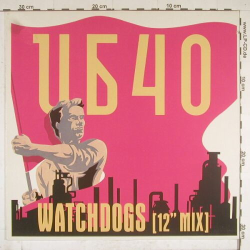 UB 40: Watchdogs*2+1,Co, Virgin(609 065-213), D, 86 - 12inch - A9943 - 4,00 Euro