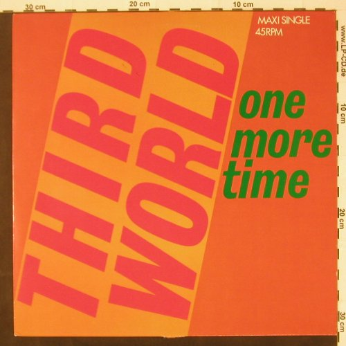 Third World: One More Time / Rock Me, CBS(), NL, 85 - 12inch - C2235 - 1,50 Euro