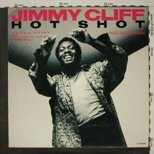 Cliff,Jimmy: Hot Shot *2+1, CBS(A 12.6370), NL, 1985 - 12inch - C8432 - 3,00 Euro