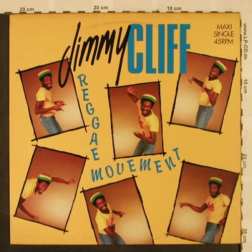 Cliff,Jimmy: Reggae Movement*3+1, CBS(A 12.4649), NL, 1984 - 12inch - H2668 - 4,00 Euro