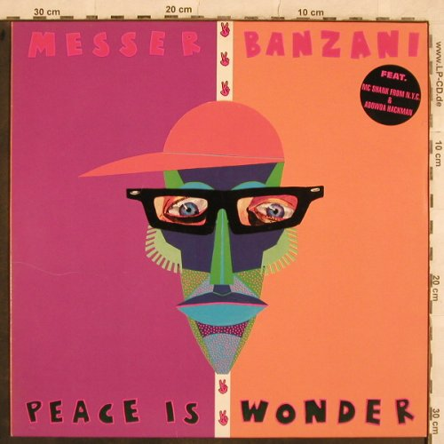 Messer Banzai: Peace Is Wonder*2+1, Orange St(398 00010 16), D,  - 12inch - X531 - 4,00 Euro