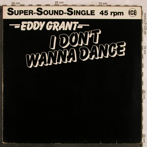 Grant,Eddy: I Don't Wanna Dance*2, Ice(INT 126.107), D, 1983 - 12inch - X551 - 4,00 Euro