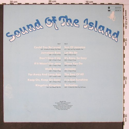 V.A.Sound of the Islands: Studio Sänger - Cover Versions, Musik-Club(32 0150), D, m-/VG-, 1980 - LP - X6104 - 4,00 Euro