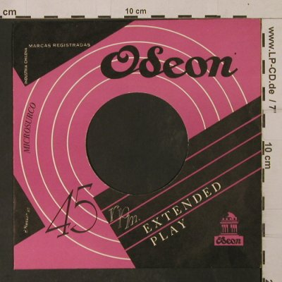 Odeon: 45 rpm.Extended Play,Microsurco, Odeon, LC(), Chile,  - Cover - T1132 - 2,50 Euro