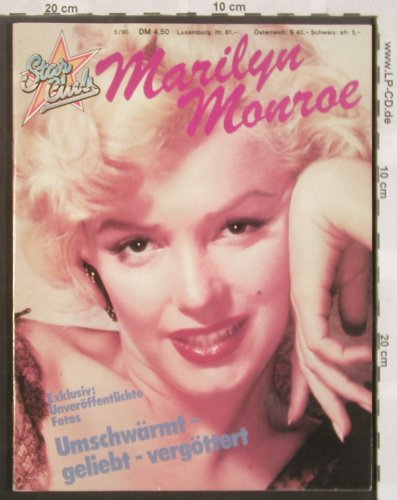 Monroe,Marilyn: Star Club 5/80, Entertainment(), D, 1980 - ZS - 40054 - 3,00 Euro