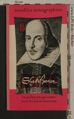 Shakespeare,William: Monographien- Jean Paris, Ro Ro Ro(rm 2), D, 1958 - Buch - 40120 - 3,00 Euro