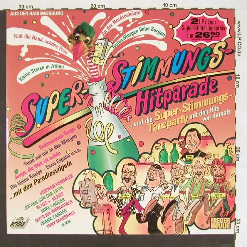 V.A.Super-Stimmungs-Hitparade: Super Stimmungs Tanzparty, Ariola(303 208), D, 88 - 2LP - A507 - 5,00 Euro