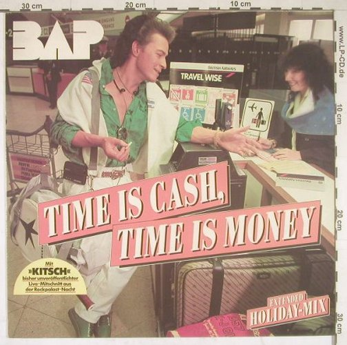 BAP: Time Is Cash Time Is Money+2, EMI(060 14 7153 6), D, 1986 - 12inch - B2797 - 2,00 Euro