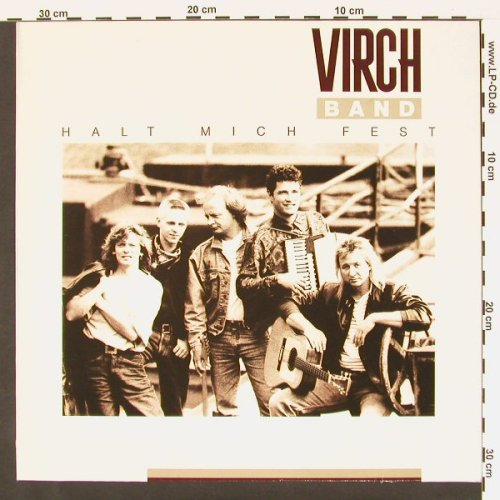 Virch Band: Halt Mich Fest, Metron.(847 403-1), D, 91 - LP - C139 - 5,00 Euro
