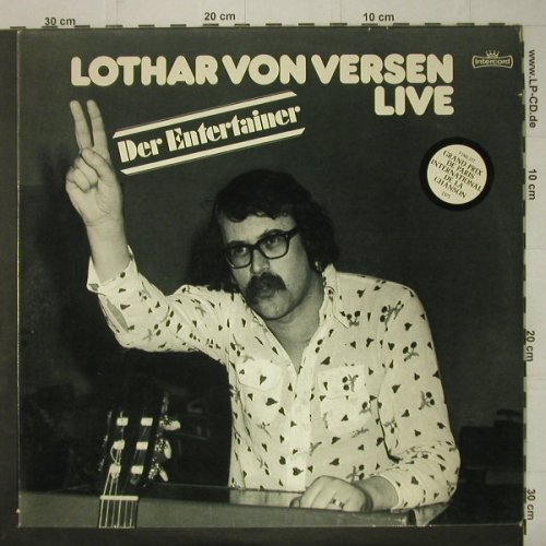 von Versen,Lothar: Der Entertainer - Live, Foc, Intercord(INT 180.026), D, 1976 - 2LP - C6819 - 6,00 Euro