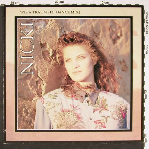 Nicki: Wie A Traum(sgl+dance)/+1, co, Virgin(613 055-213), D, 1990 - 12inch - E1068 - 2,50 Euro