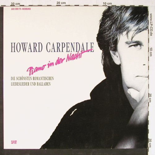 Carpendale,Howard: Piano in der Nacht, Electrola(7 95397 1), EEC, 1990 - 2LP - E1413 - 6,50 Euro