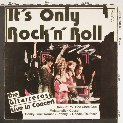 Gitarreros: It's Only Rock'n'Roll, Amiga(8 56 231), DDR, 1986 - LP - E592 - 7,50 Euro