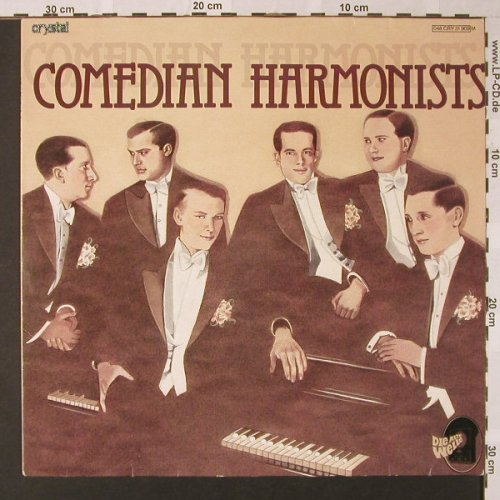 Comedian Harmonists: Die Alte Welle, Crystal(048 CRY 31 909), D,  - LP - E8556 - 5,00 Euro