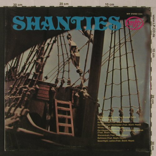 V.A.Shanties: 12 Tr. Trad. Bearb. Heyer,FS-New, MFP(MFP 5594), ,  - LP - F5379 - 5,00 Euro