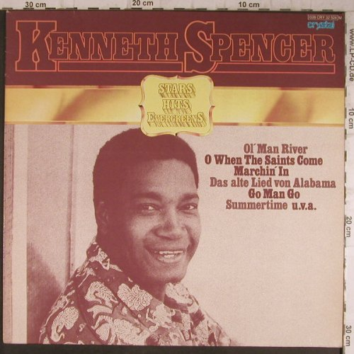 Spencer,Kenneth: Stars Hits Evergreens,Ri, Crystal(028 CRY 32 524), D, 1957 - LP - F8265 - 5,50 Euro
