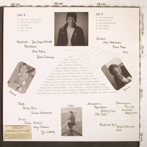 Holly: ...ganz einfach nur Songs..., Holly Produktion(66.22 802), D,  - LP - F9131 - 7,50 Euro