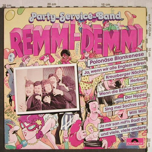 Party-Service-Band: Remmi-Demmi, m-/vg+, Polydor(2437 933), D, 1981 - LP - H1043 - 4,00 Euro