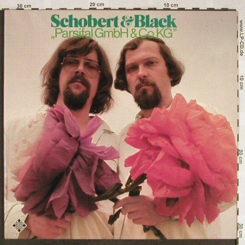 Schobert & Black: Parsifal Gmbh & Co KG, Foc, Telefunken(6.22045 AS), D, 1974 - LP - H1963 - 7,50 Euro