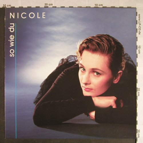 Nicole: So wie du, Club Edition, Jupiter(60 044 5), D, 1988 - LP - H212 - 6,50 Euro