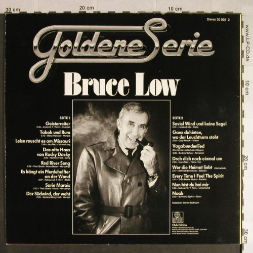 Low,Bruce: Goldene Serie, Club Edition, Ariola(30 029 3), D, stol,  - LP - H258 - 3,00 Euro