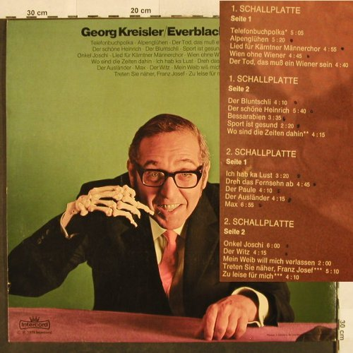 Kreisler,Georg: Everblacks Zwei, Foc, Intercord(26 443-2 Z/1-2), D, 1974 - 2LP - H3304 - 20,00 Euro