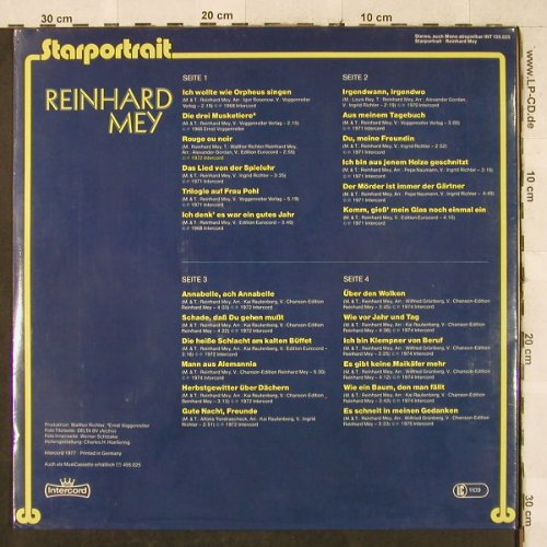 Mey,Reinhard: Starportrait, Foc, FS-New, Intercord(INT 155.025), D, 1977 - 2LP - H3434 - 15,00 Euro