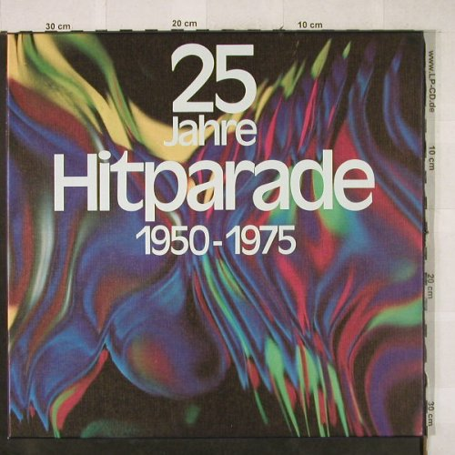 V.A.25 Jahre Hit Parade: 1950-1975, Box, Polydor/S*R(63 445), D,Club Ed,  - 3LP - H3726 - 7,50 Euro