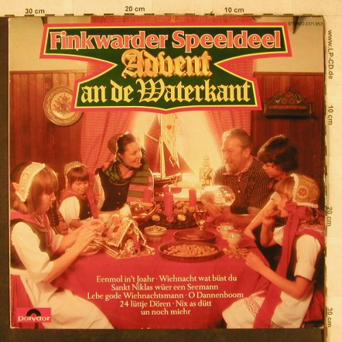 Finkwarder Speeldeel: Advent an de Waterkant, Polydor(2371 953), D, 1979 - LP - H3895 - 5,50 Euro