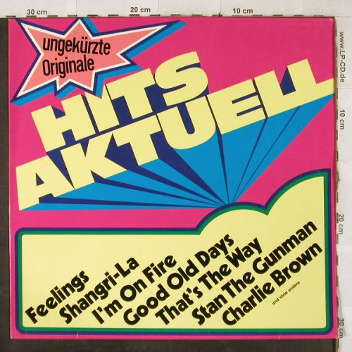 V.A.Hits Aktuell: Udo Jürgen..Hank the Knife&t.Jets, S*R(63 089), D,  - LP - H3936 - 4,00 Euro