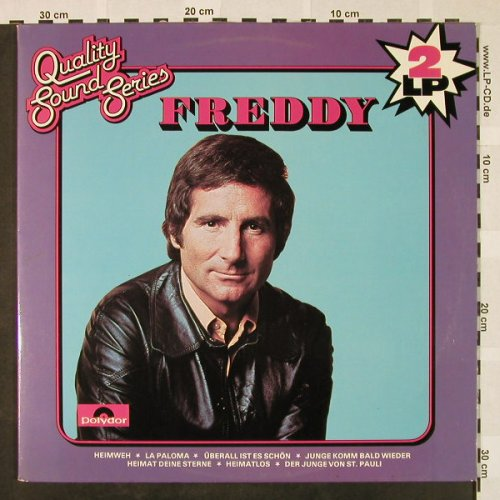 Quinn,Freddy: Same, Quality Sound Series, Foc, Polydor(2670 146), NL,  - 2LP - H4439 - 9,00 Euro