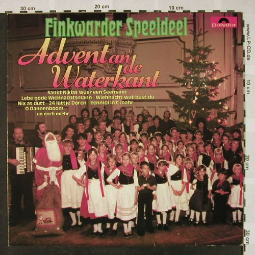 Finkwarder Speeldeel: Advent an de Waterkant, Polydor(815 207-1), D, 1979 - LP - H4662 - 5,00 Euro