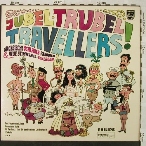 Travellers: Jubel Trubel, Philips(844 325 PY), D, 1968 - LP - H5224 - 7,50 Euro