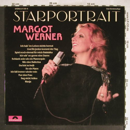 Werner,Margot: Starportrait, Polydor, Club Ed.(27 232-8), D,  - LP - H6980 - 6,00 Euro