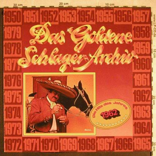 V.A.Das Goldene Schlager-Archiv: 1962-Caterina Valente..Chis Howland, S*R(38 642 5), D, 1982 - LP - H8515 - 4,00 Euro