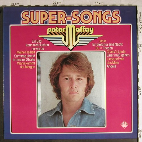 Maffay,Peter: Super-Songs, Telefunken(6.22534), D, 1976 - LP - H8715 - 6,00 Euro