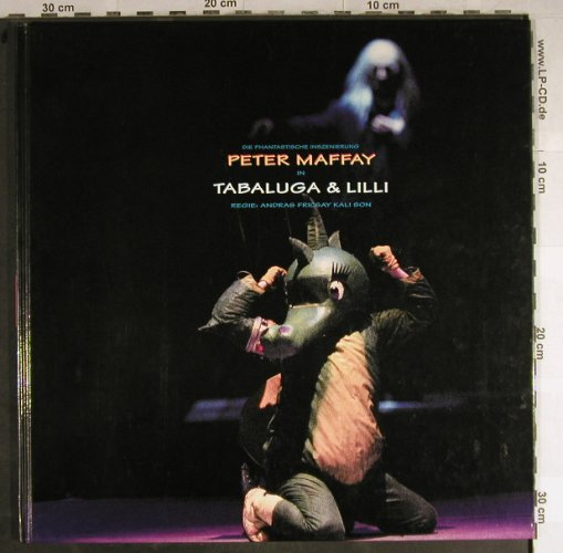 Maffay,Peter: Tabluga & Lilli-Live'94, Same(), D, 1994 - Book - H8719 - 6,00 Euro