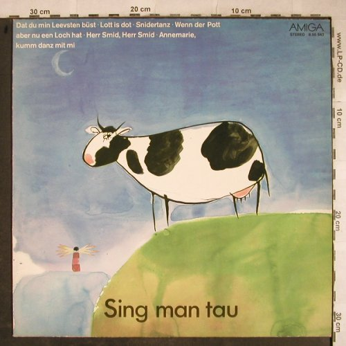 V.A.Sing Man Tau: Mecklenburger Musikanten.., Amiga (Red)(8 55 542), DDR, 1977 - LP - H9233 - 5,00 Euro