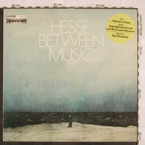Hesse,Herman: Hesse Between Music, Gerd Westphal, Wergo/Spectrum(SM 1015), D, 1977 - LP - X223 - 12,50 Euro