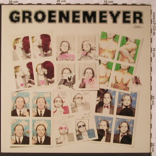 Grönemeyer,Herbert: Zwo, Intercord(INT 160.138), D, 1980 - LP - X2254 - 6,50 Euro