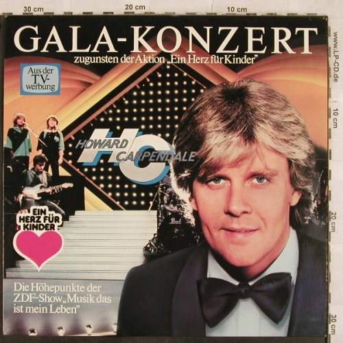 Carpendale,Howard: Gala-Konzert, EMI(088-46 738), D, 1983 - LP - X229 - 4,00 Euro