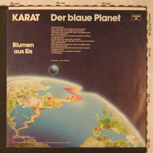 Karat: Der Blaue Planet+1, Pool(6.20098 AE), D, 1981 - 12inch - X2589 - 5,00 Euro