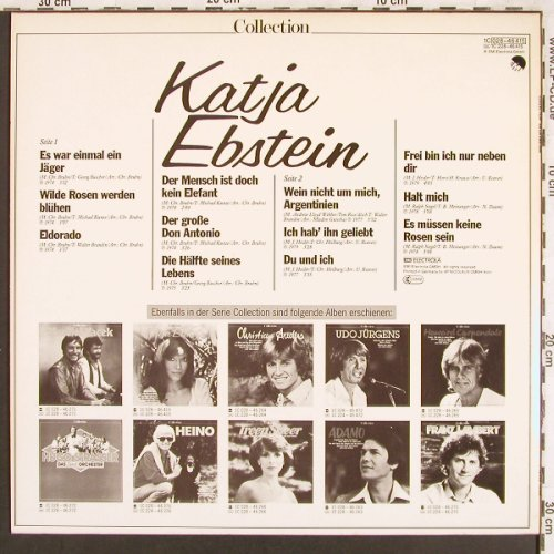 Ebstein,Katja: Collection, EMI(028-46 514), D, Ri,  - LP - X3336 - 5,00 Euro