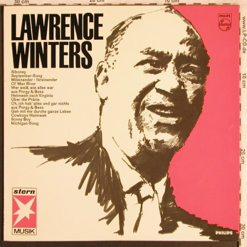 Winters,Lawrence: Same, Philips/Stern-Musik(843 741 PY), D,Mono, 1965 - LP - X3986 - 5,00 Euro