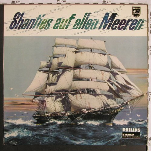 Simson,Rolf/Bay,Carl/Gorch FockChor: Shanties auf allen Meeren, Philips(844 342), D, 1968 - LP - X4282 - 9,00 Euro